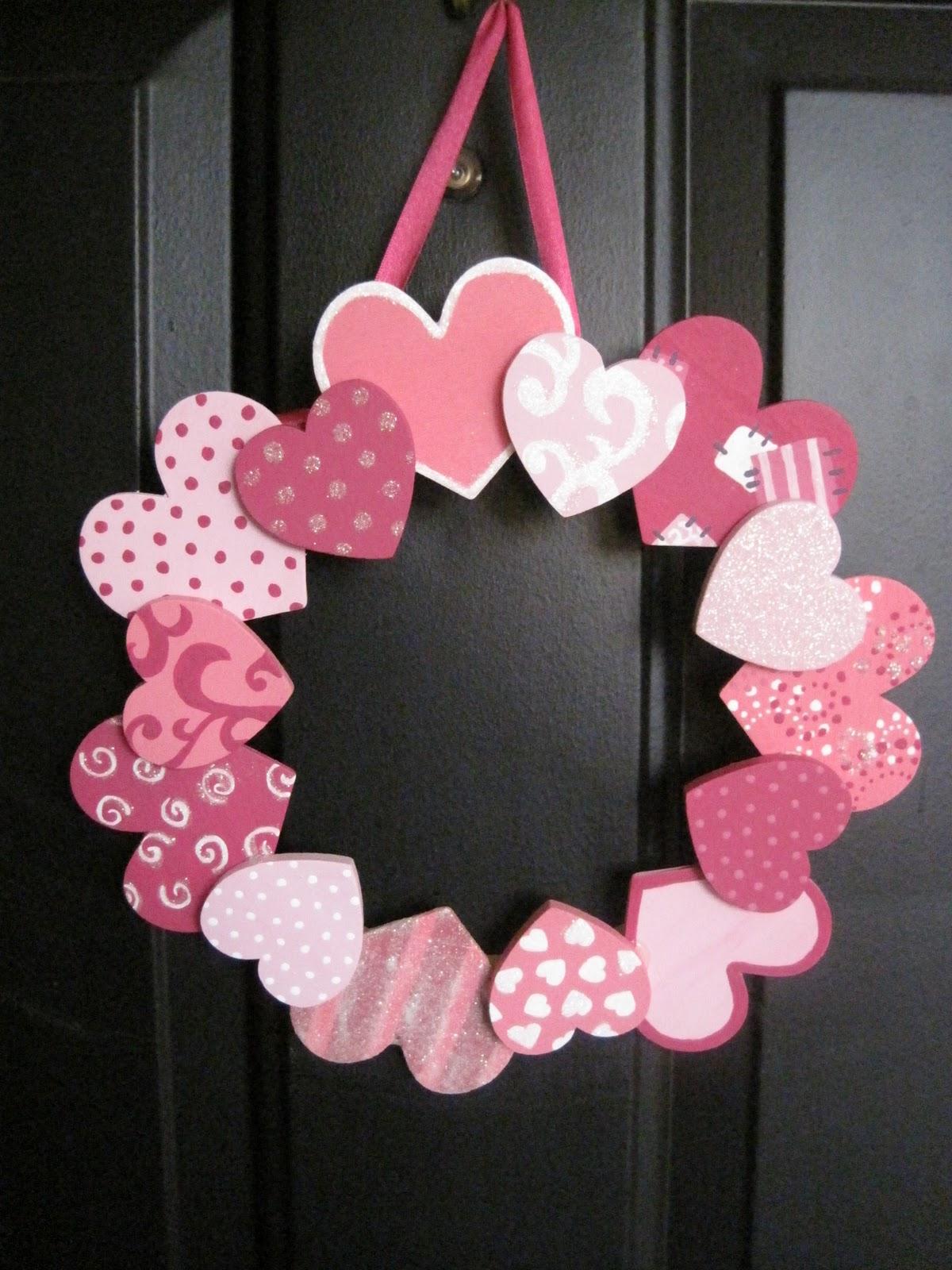 ᐉ валентинки своими руками объемное сердце. валентинка своими руками отзывы. венок из сердечек ✅ igrad.su