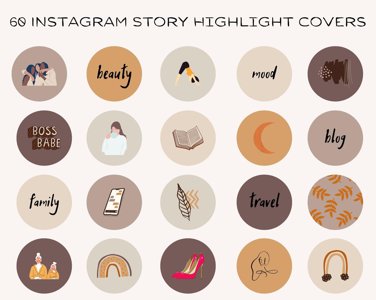 Как сделать обложку для инстаграм историй хайлайтс
