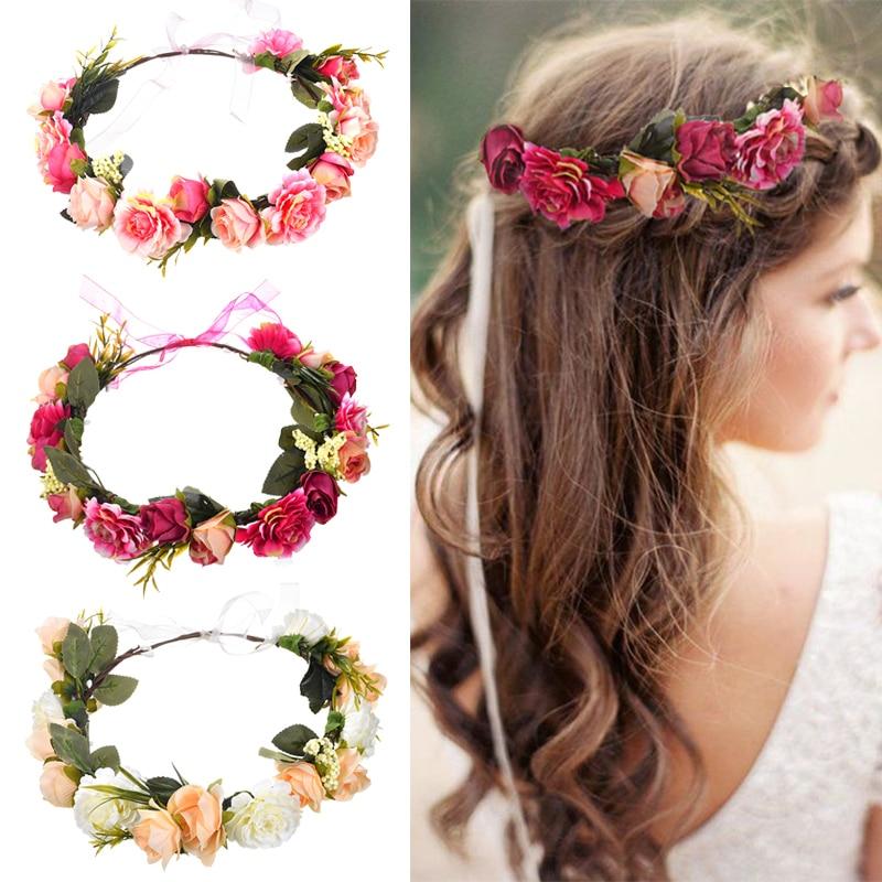 Ободок с цветами – подчеркни свою натуральную красоту!
