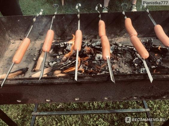 Жареные сосиски (45 рецептов с фото) - рецепты с фотографиями на поварёнок.ру