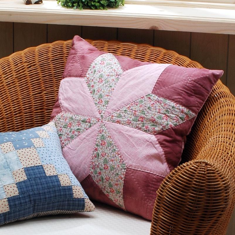 Подушки в стиле пэчворк: делаем дом уютнее