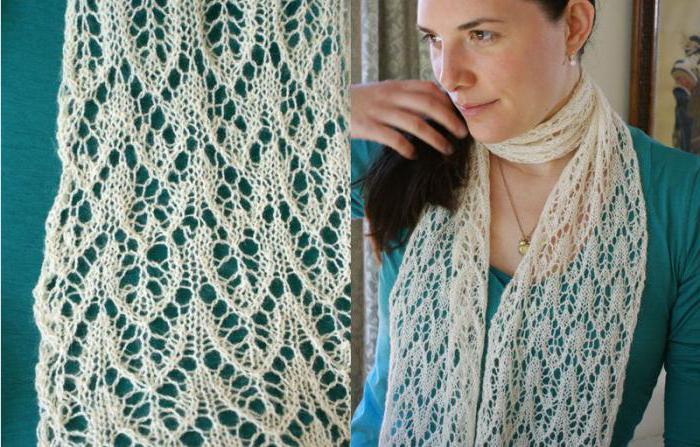 Схемы женских ажурных шарфов спицами: подробное описание и примеры как связать шарф спицами. 140 фото-идей узоров для шарфа