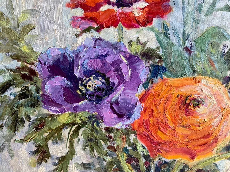 ✅ витражная картина с букетом цветов - eco-podarki.ru