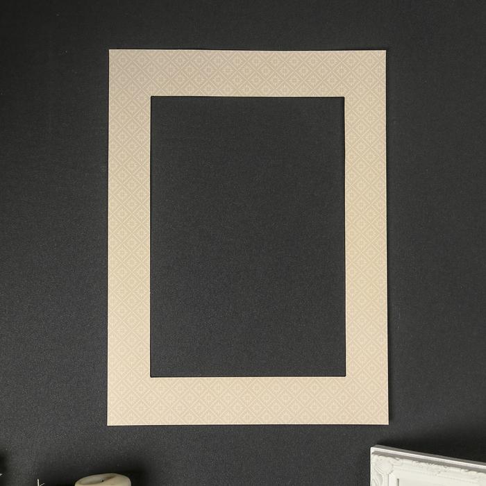 3 простых способа сделать паспарту для картины своими руками