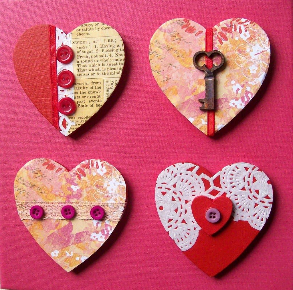 Сердечки и валентинки своими руками: 5 сердечных подарков на день всех влюбленных (из бумаги)