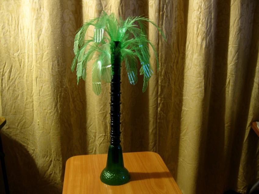 Пальма из пластиковых бутылок :: инфониак