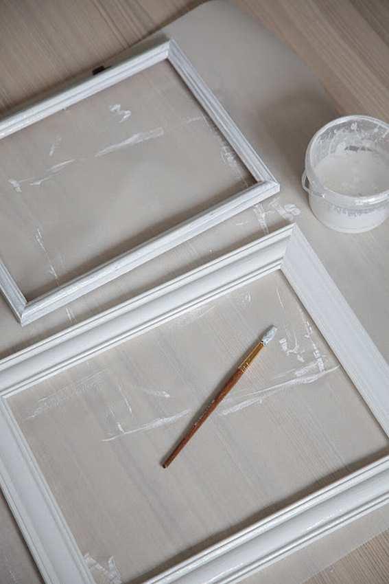 Рамка для зеркала своими руками из потолочного плинтуса (фото)