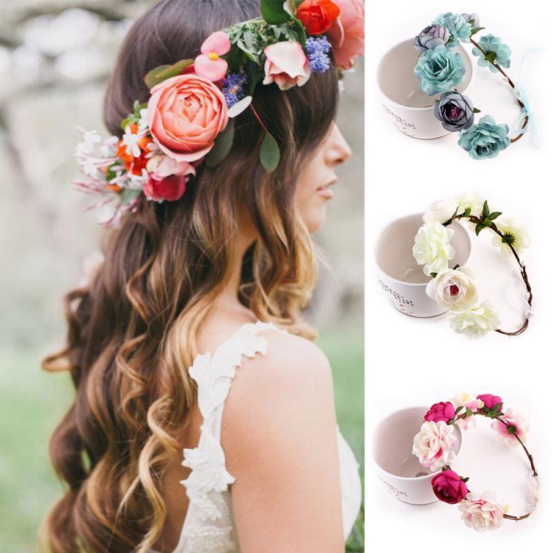 Ободок с цветами - фото необычных и оригинальных украшений волос