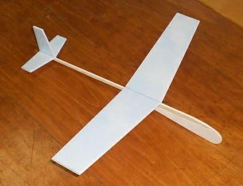 Авиамодель ил-76 (технология изготовления из потолочной плитки) - портал детского технического творчества тамбовской области техносфера+