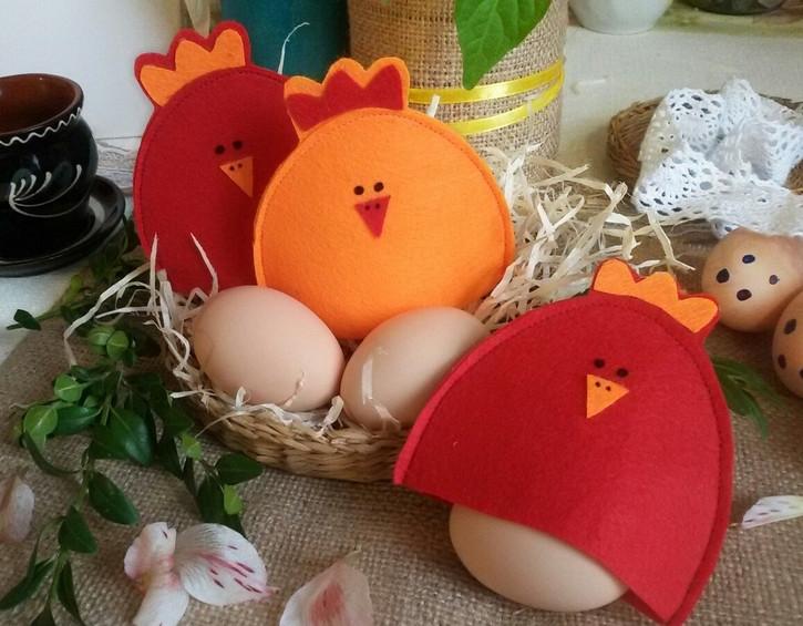 Курочка на пасхальное яйцо (вязание крючком) — 4 мк — коробочка идей и мастер-классов