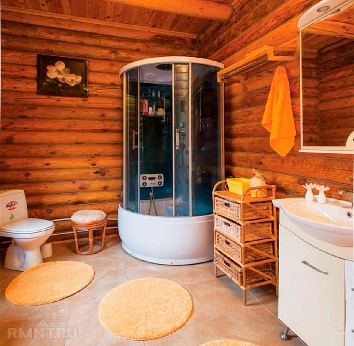 Санузел в деревянном доме: фото, видео обустройства санузел в деревянном доме: фото, видео обустройства