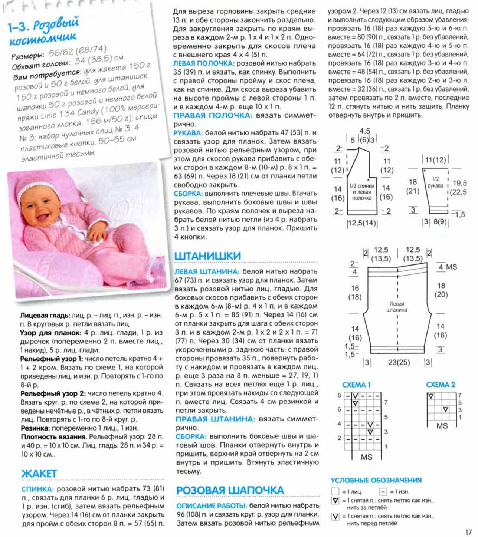 Шапочка спицами для новорожденного: вязание детских вещей