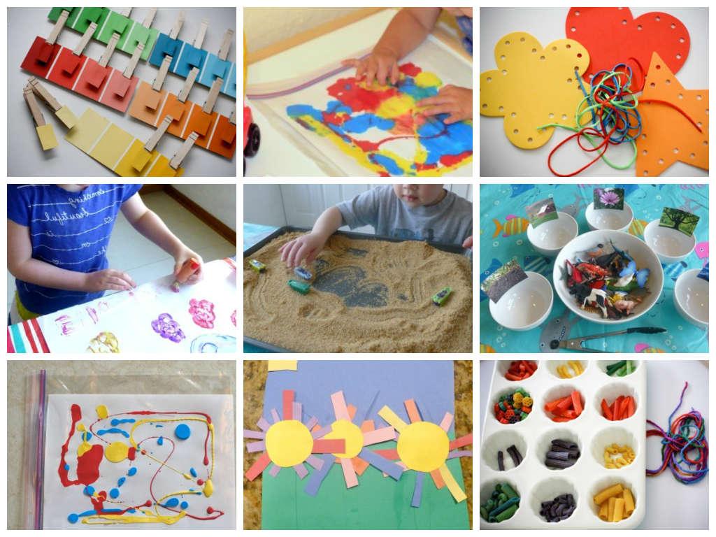Развивающие игры и занятия для детей 2 - 3 лет (подробный план - конспект) – жили-были