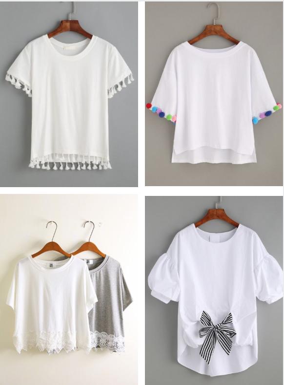25 классных идей, как обновить старую футболку к лету