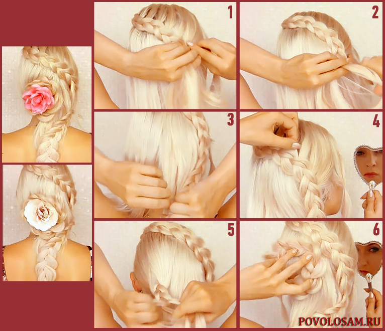 Прическа роза — секреты создания элегантной укладки волос
