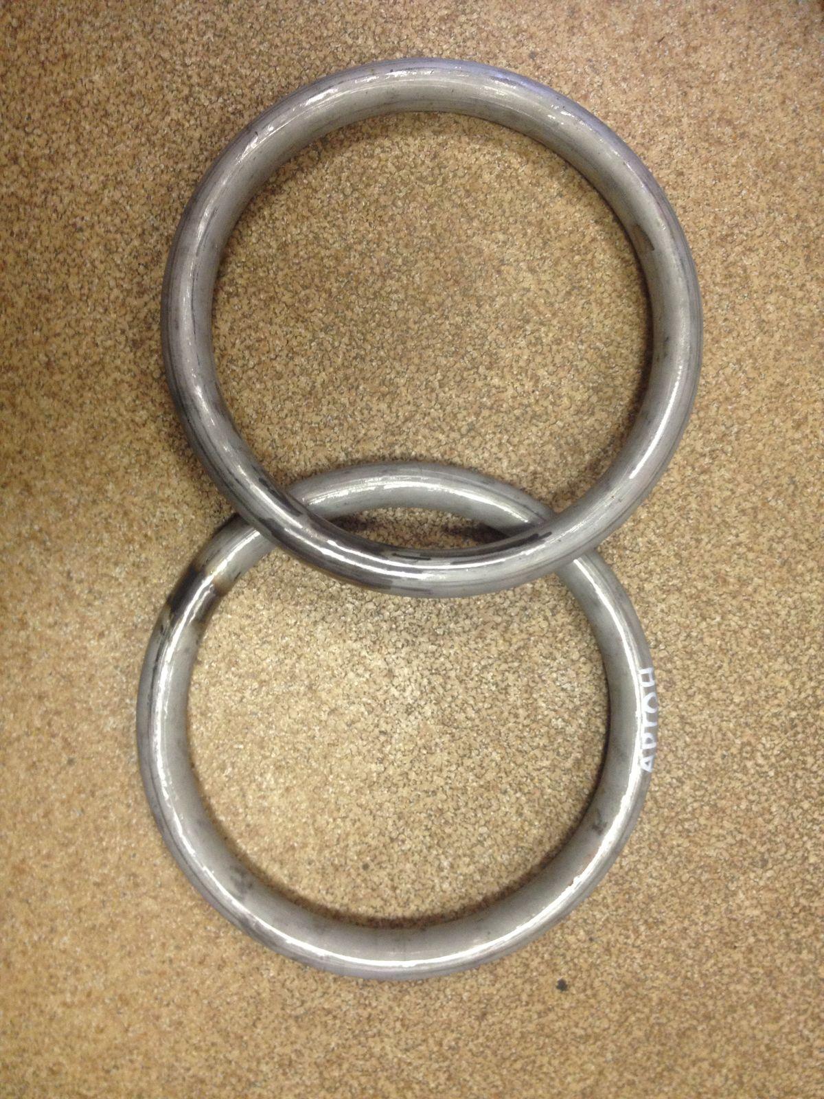 Перстень из стальной трубы