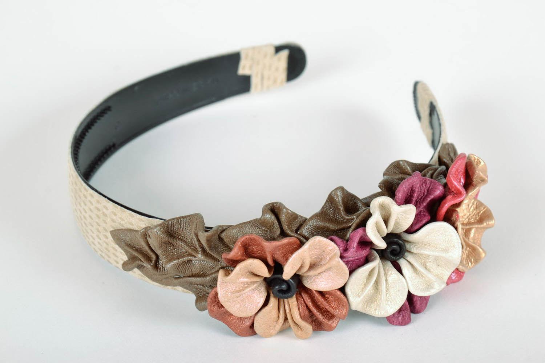 Ободки с цветами: советы по выбору и создание украшения для волос своими руками (95 фото и видео)