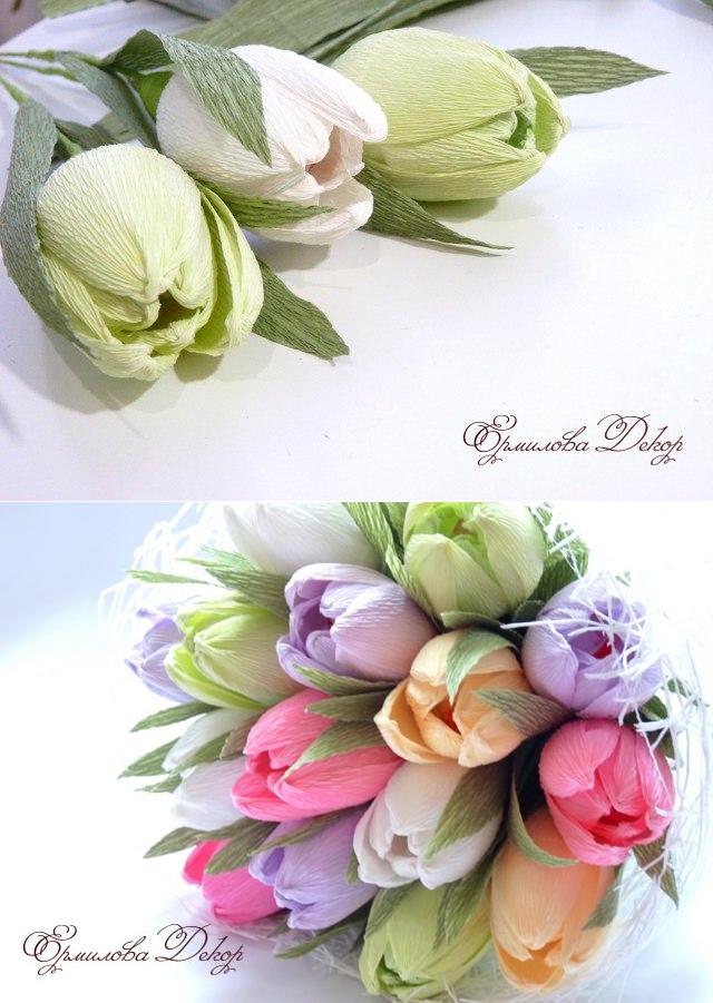 Красивый и сладкий букет из конфет на 8 марта: мастер классы с фото