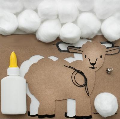Новогодние поделки своими руками: овечка из ватных дисков, мастер-класс с фото. мастер-класс «овечка из ваты овечка своими руками из бумаги