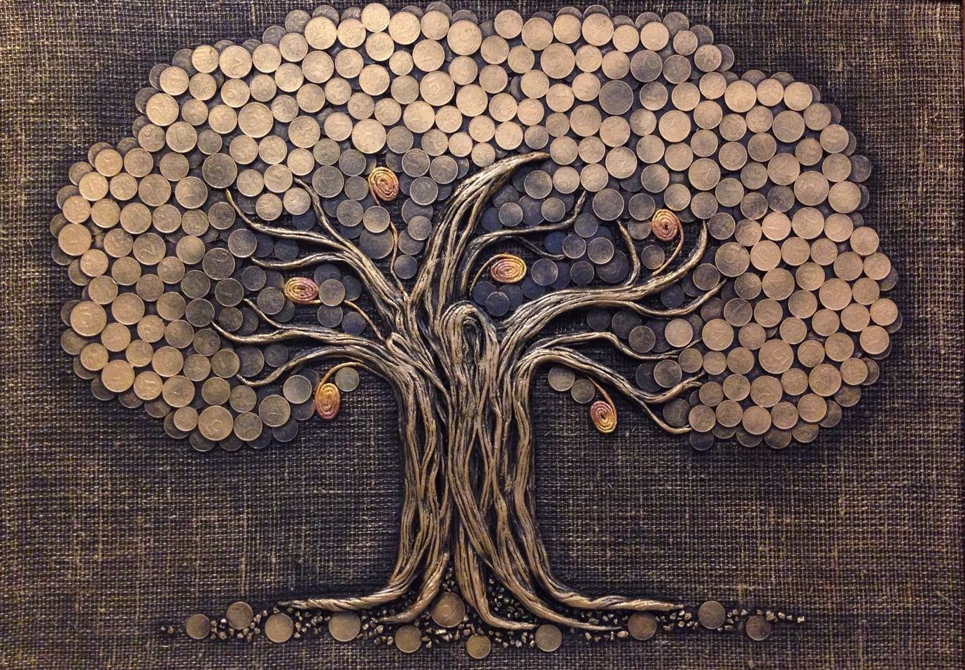 Мастер-класс по созданию денежного дерева из монет своими руками: топиарий с кофе и другие поделки