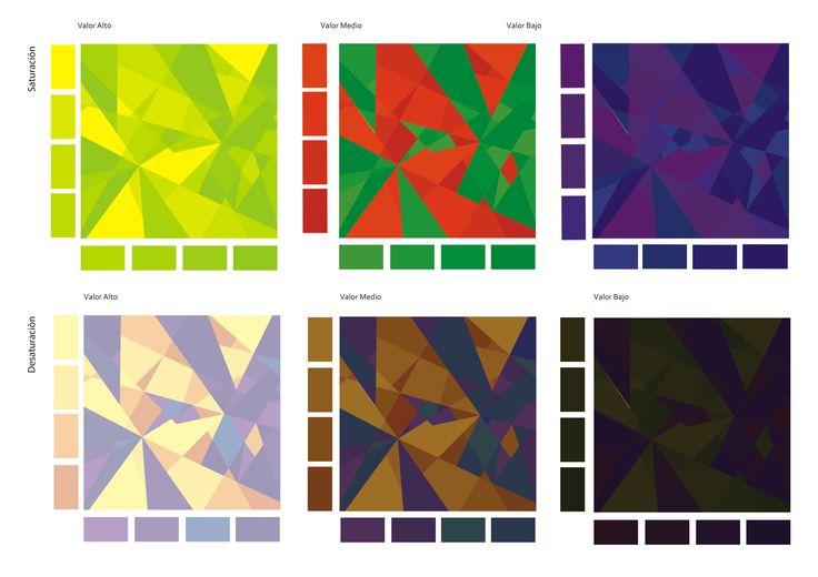 Контраст по насыщенности — искусство цвета (иоханнес иттен)