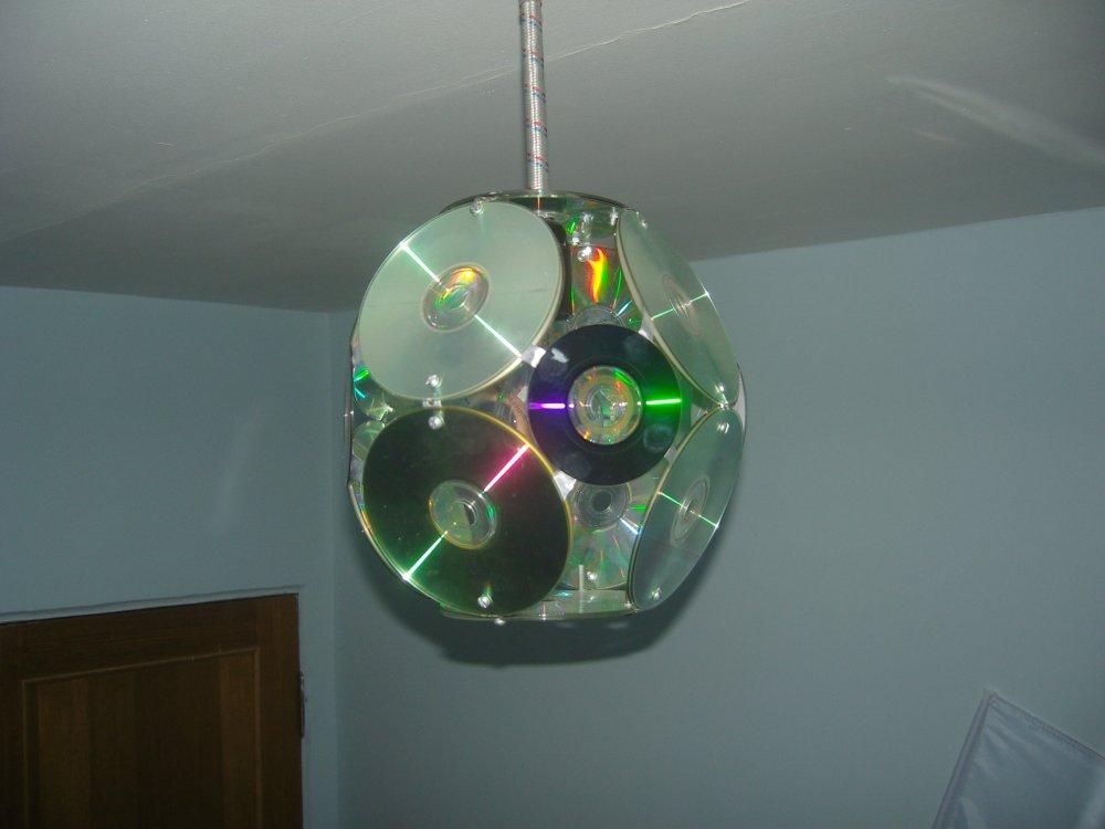 Поделки из дисков cd/dvd: что можно сделать из старых дисков на новый год для дома, детского сада, школы