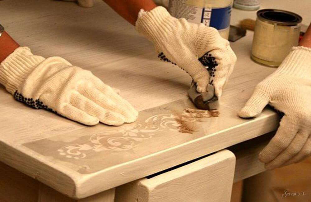 Инструкция: как отремонтировать старый деревянный стол своими руками, фото