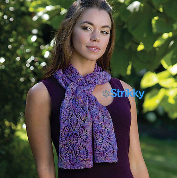 Вяжем крючком простые и сложные ажурные шарфы, подборка схем и описаний