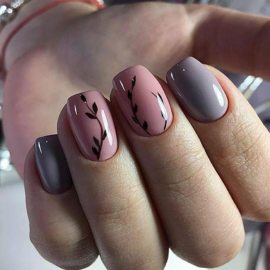 Серо-розовый маникюр – модные тенденции и тренды для ногтей любой длины - секреты стиля - медиаплатформа миртесен
