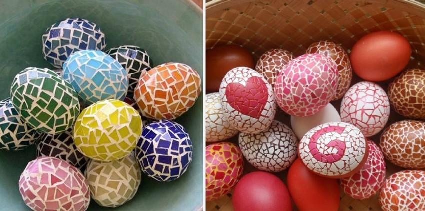 Необычные способы окрашивания и декорирования пасхальных яиц