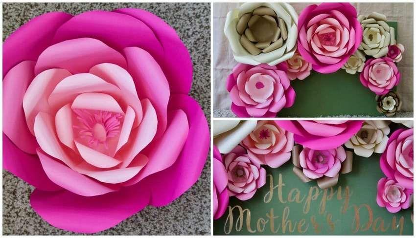 Цветы из бумаги своими руками: как легко и быстро изготовить бумажные цветы (100 фото и видео)
