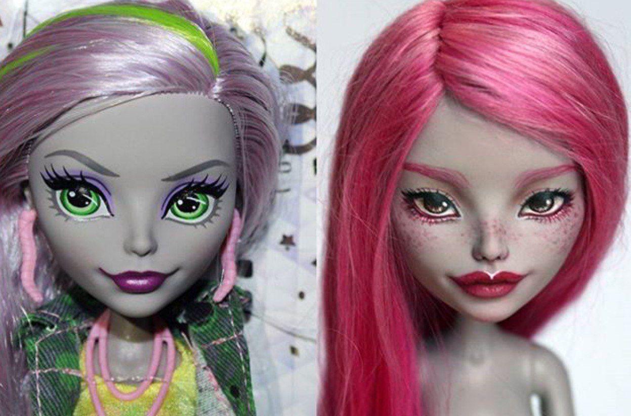 Как сделать ооак куклы ever after high самостоятельно. демонесса ооак из старой куклы куклы в стиле оак