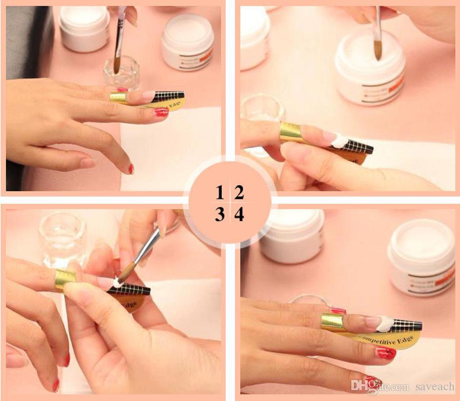 Что нужно для наращивания ногтей акрилом? список материалов для маникюра в домашних условиях