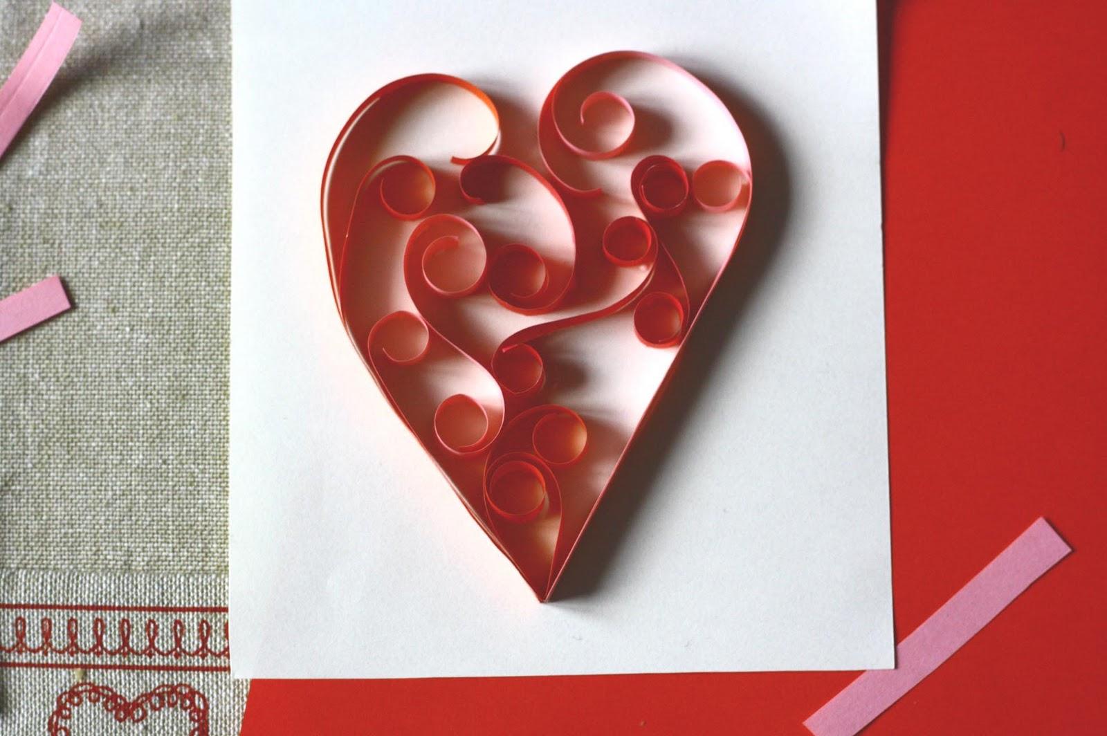 Валентинки из бумаги своими руками: мастер-класс для детей с шаблонами