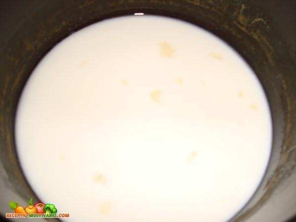 Режим «молочная каша» в мультиварке POLARIS