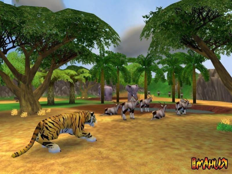 Сюжетно-ролевая игра «зоопарк» (средняя группа)