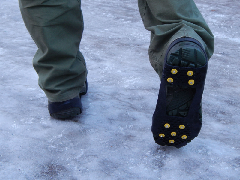 Как сделать обувь не скользкой в домашних условиях
