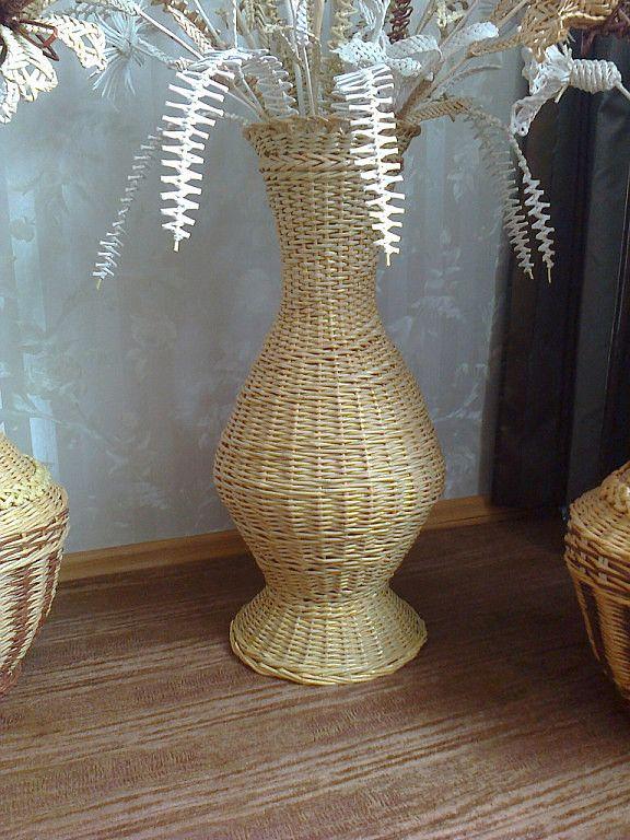 Плетение вазы из газетных трубочек: советы, техники, интересные модели