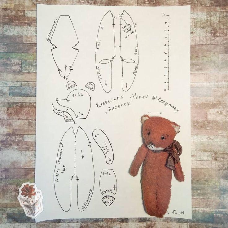 Мишка тильда: мастер-класс по шитью и выкройке медвежонка и его одежды