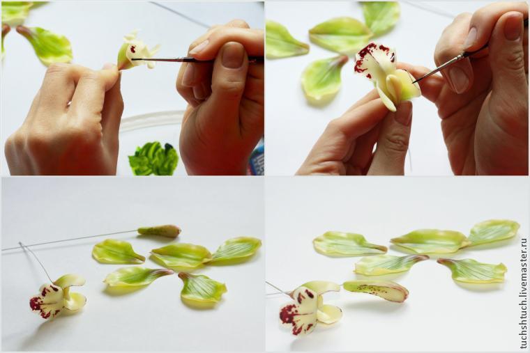 Цветы из холодного фарфорасвоими руками: модная новинка в мире флористики