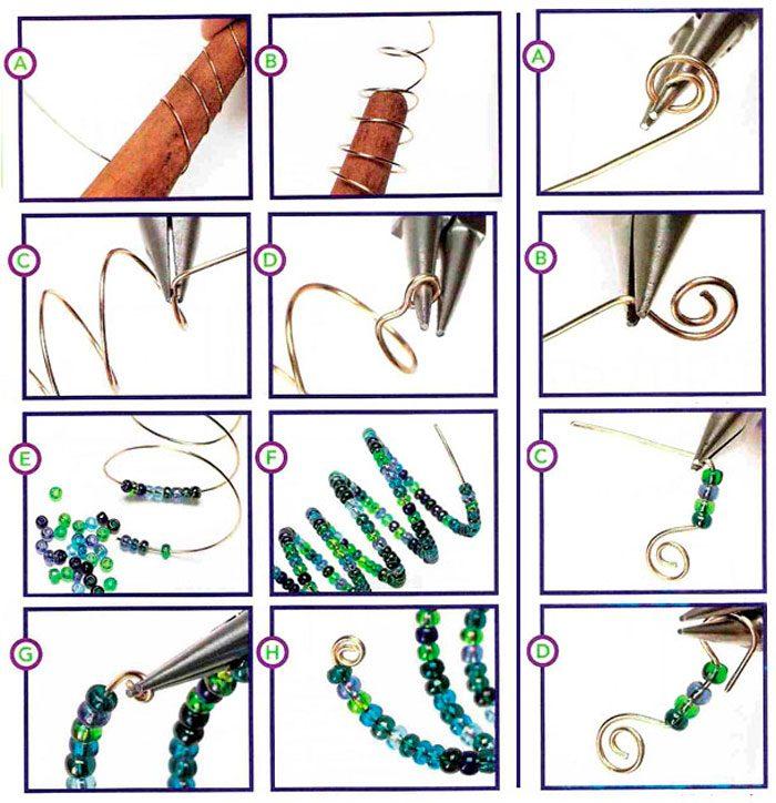 Новогодние елочки из бисера, как сделать, способы, схемы