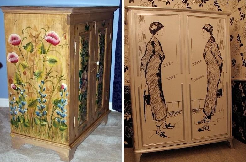 Как обновить старый шкаф: как преобразить своими руками, как из старого шкафа можно сделать новый и современный, обновление и дизайн