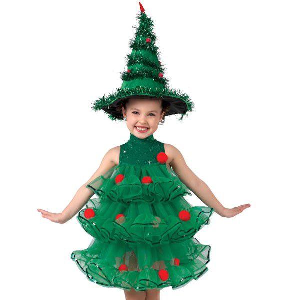 Варианты изготовления новогоднего костюма елочки для девочки | мы делаем праздник лучше!