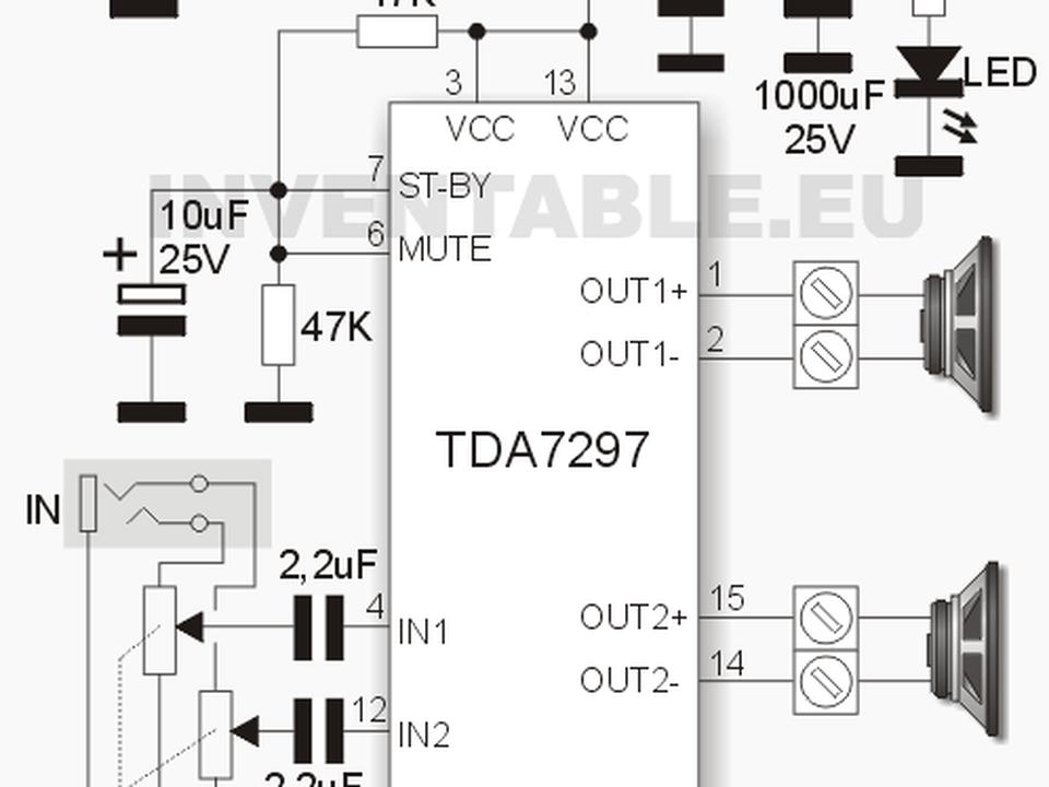 Усилители звука на микросхемах серии tda для любого радиолюбителя