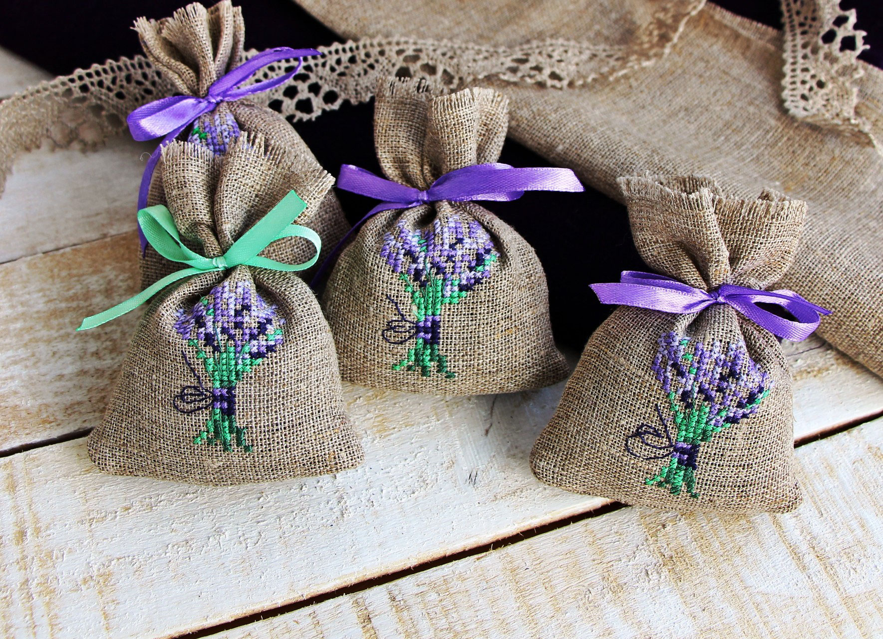 Ароматические саше - мешочки с травами