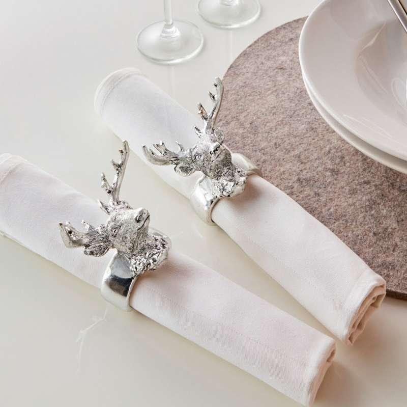 Кольца для салфеток на новогодний стол | страна мастеров