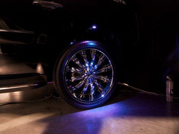 Подсветка дисков автомобиля – недорогой вариант светового тюнинга!