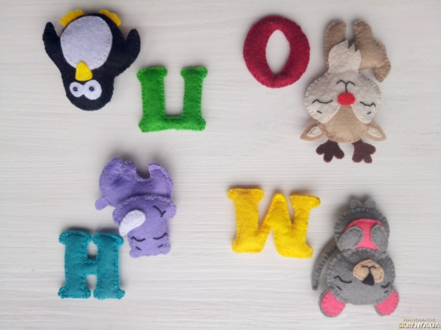 Буквы из фетра своими руками: выкройки, шаблоны и мастер-класс изготовления красивых букв (155 фото-идей, инструкция и видео)