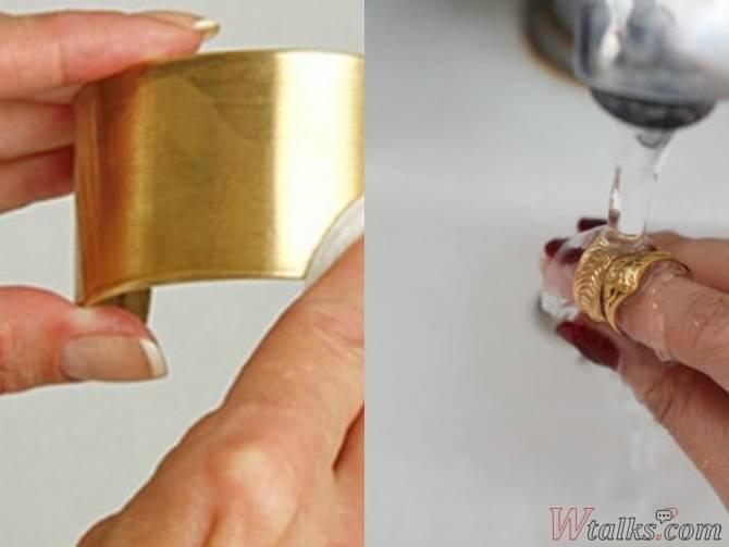 Как почистить бижутерию из дешевого металла в домашних условиях