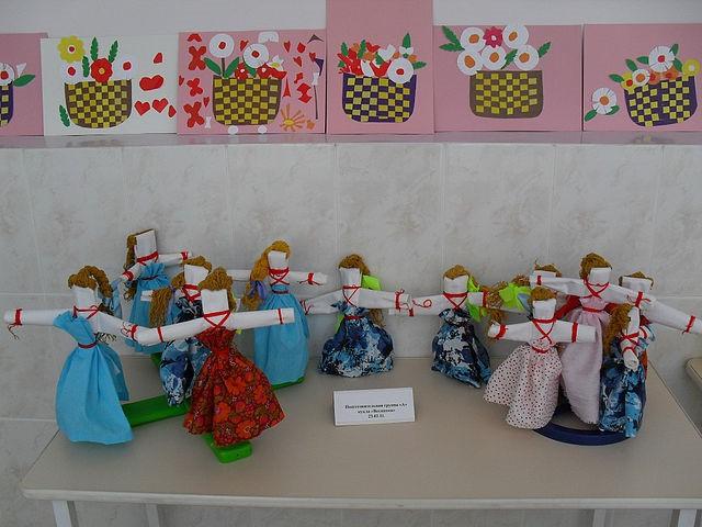 Конспект занятия в старшей группе «куклы из ниток». воспитателям детских садов, школьным учителям и педагогам - маам.ру